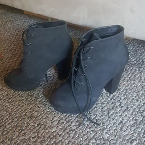 Target Mossimo Supply heeled boots
